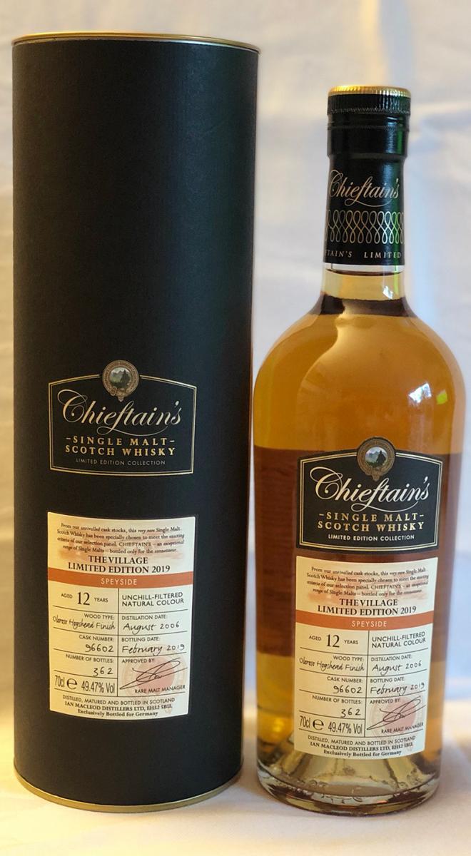 Chieftain's 2006 IM