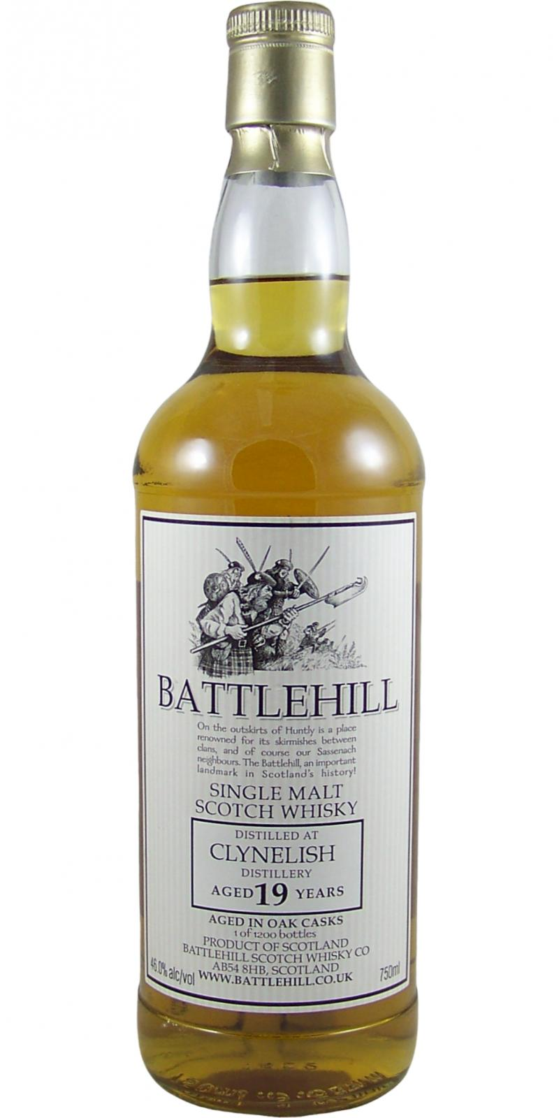 Clynelish 19-year-old BSW