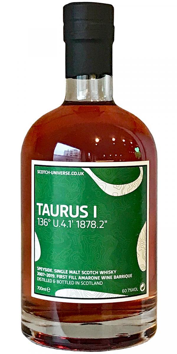 """Scotch Universe Taurus I - 136° U.4.1' 1878.2"""""""