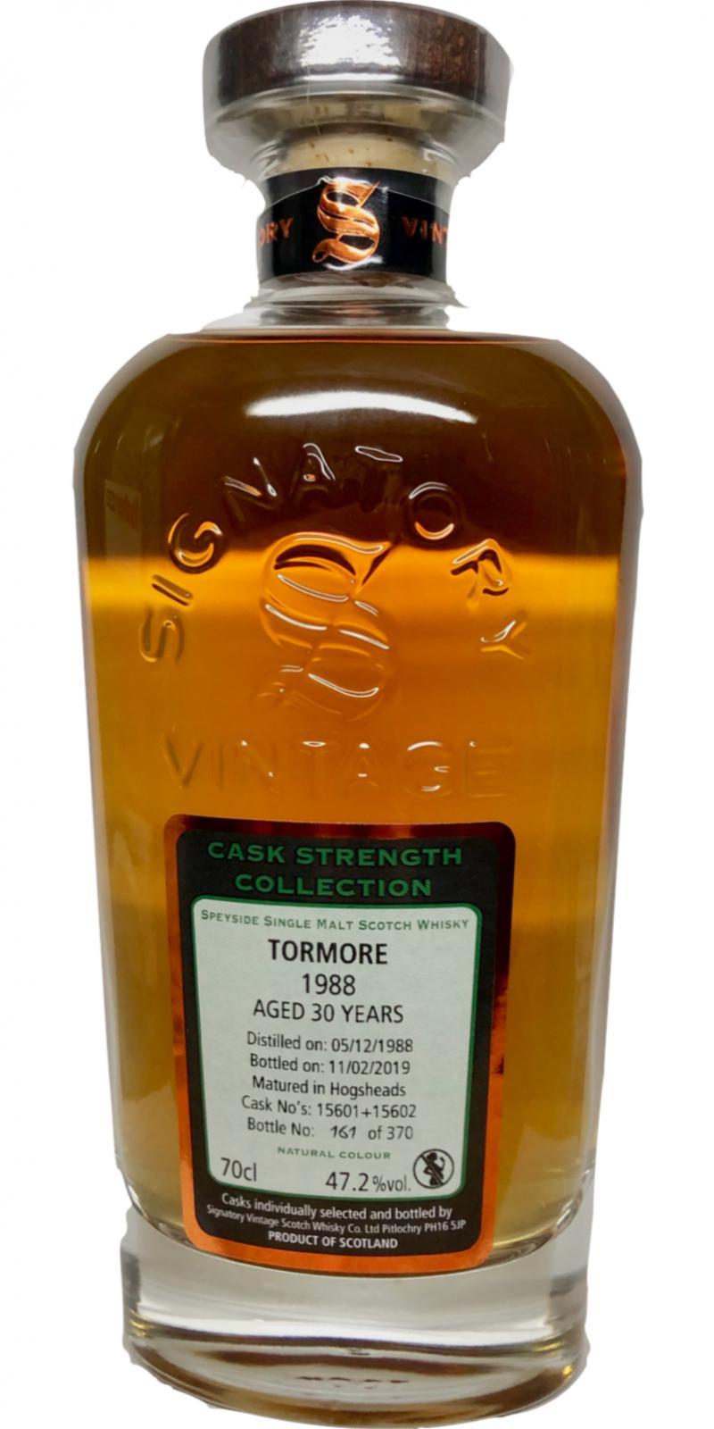 Tormore 1988 SV