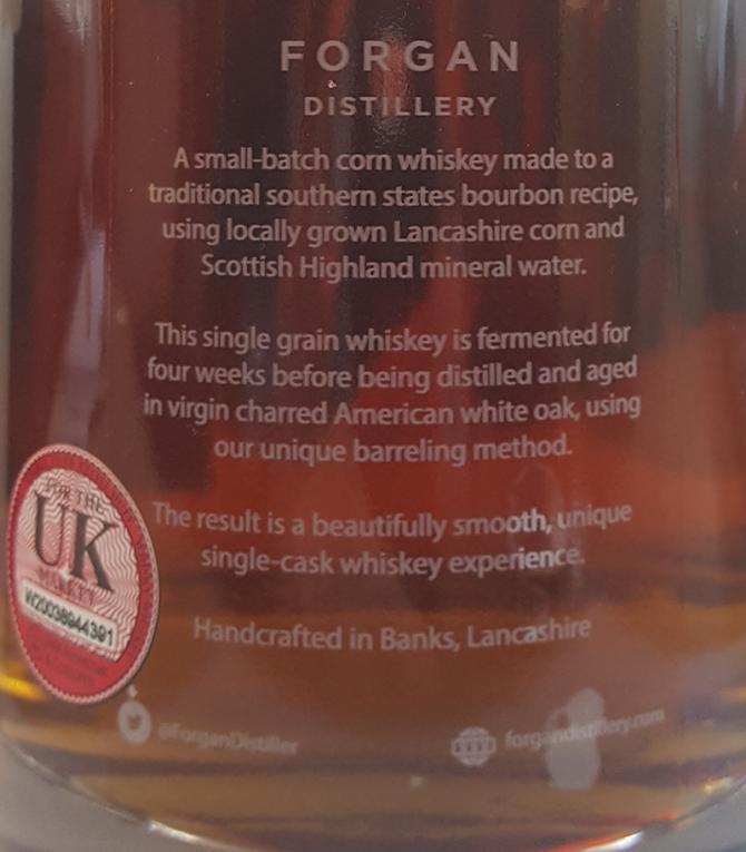 Forgan Corn Whiskey