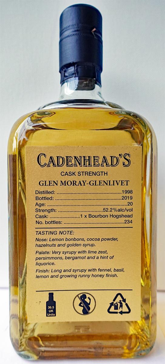 Glen Moray 1998 CA