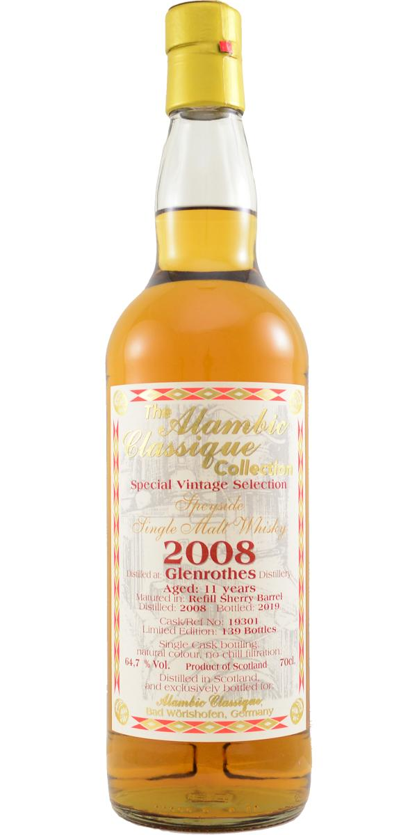 Glenrothes 2008 AC