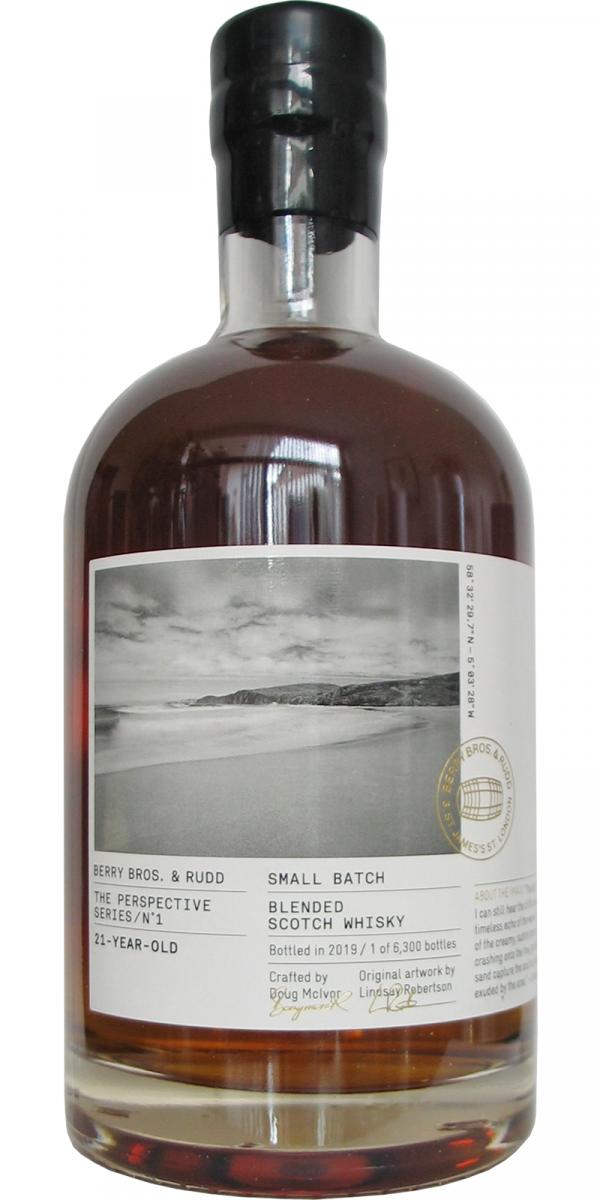 Blended Scotch Whisky 21-year-old BR