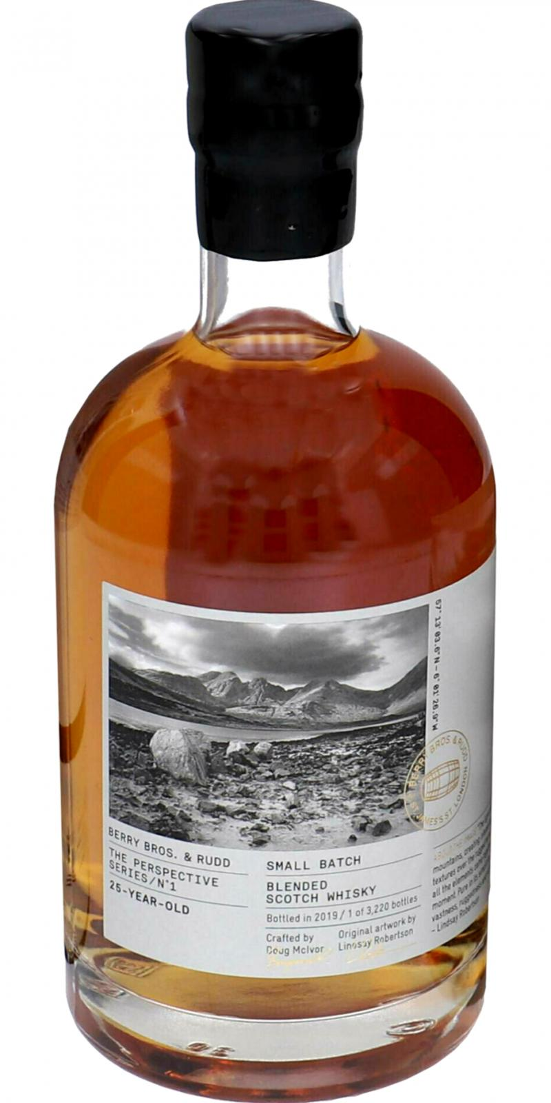 Blended Scotch Whisky 25-year-old BR