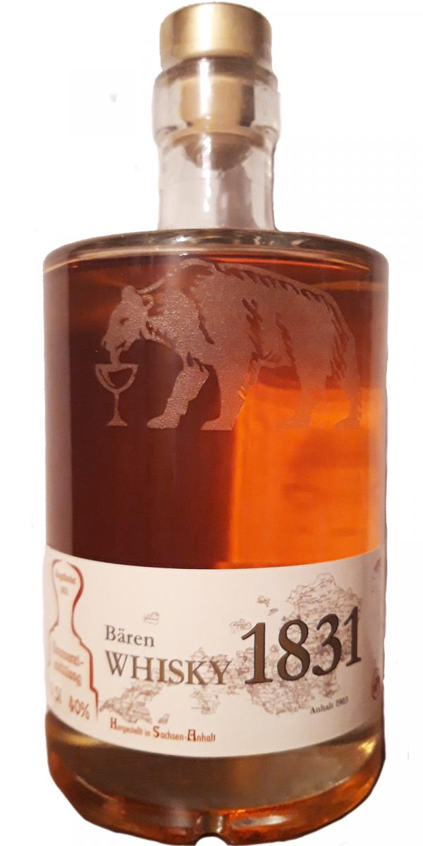Bären Whisky 1831 03-year-old