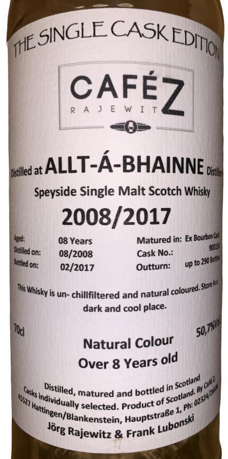 Allt-a-Bhainne 2008 CZ