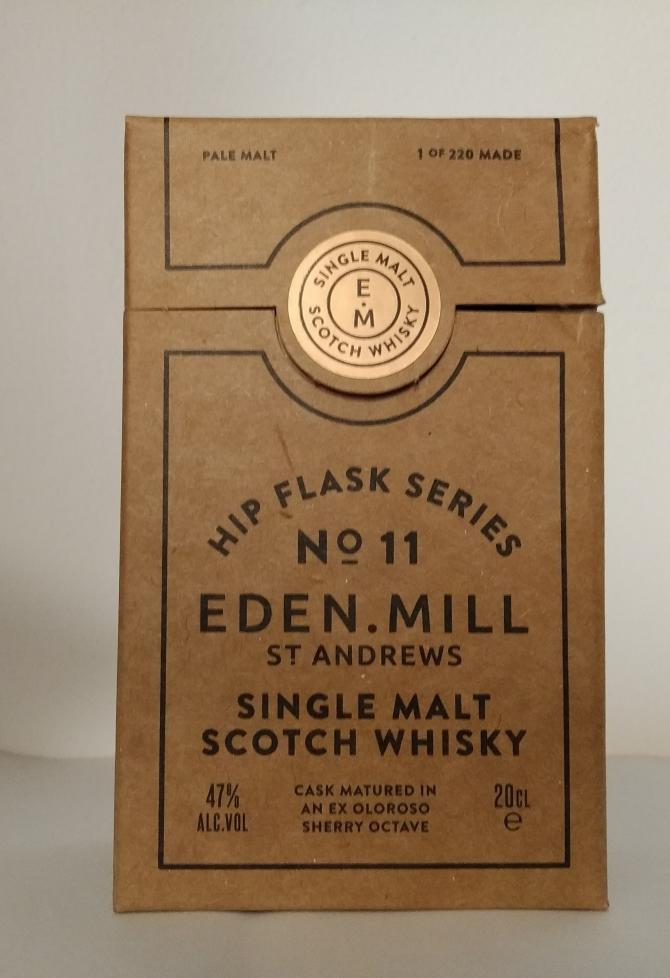 Eden Mill Hip Flask Series No. 11