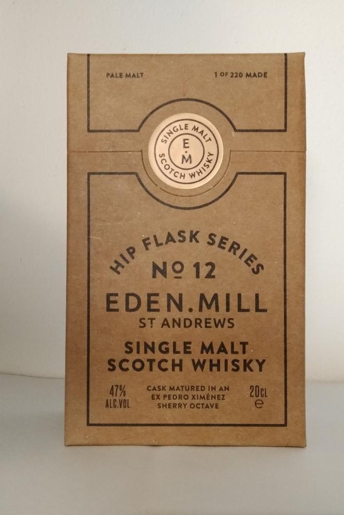 Eden Mill Hip Flask Series No. 12