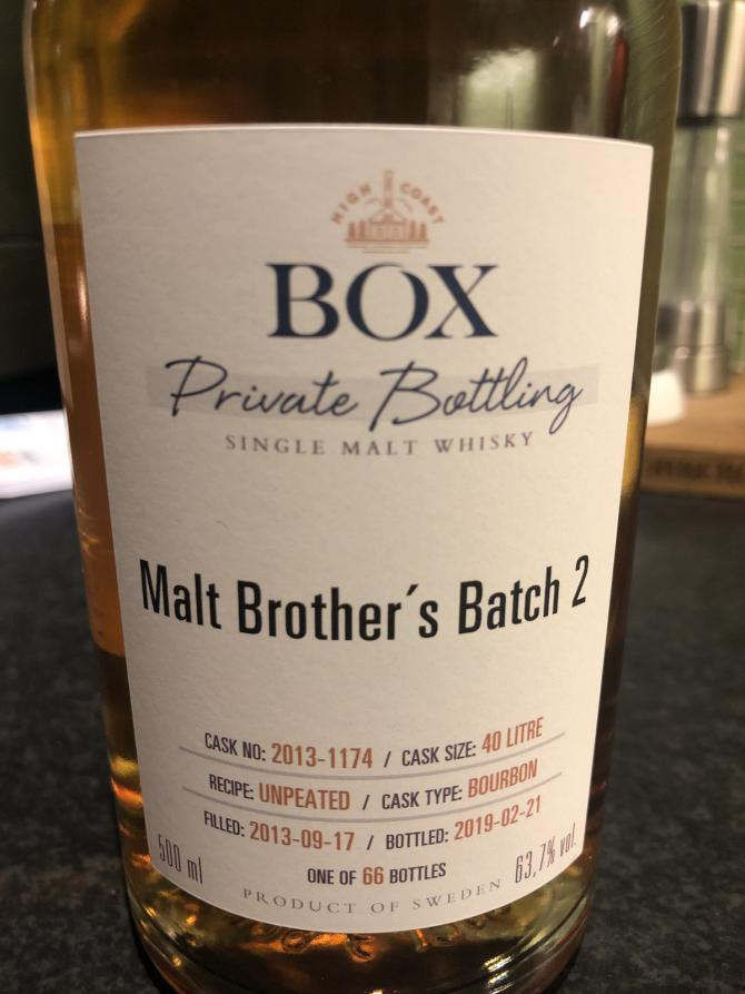 Box 2013 - Malt Brother's Batch 2