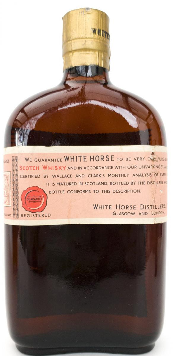 White Horse The Old Blend Scotch Whisky of the White Horse Cellar