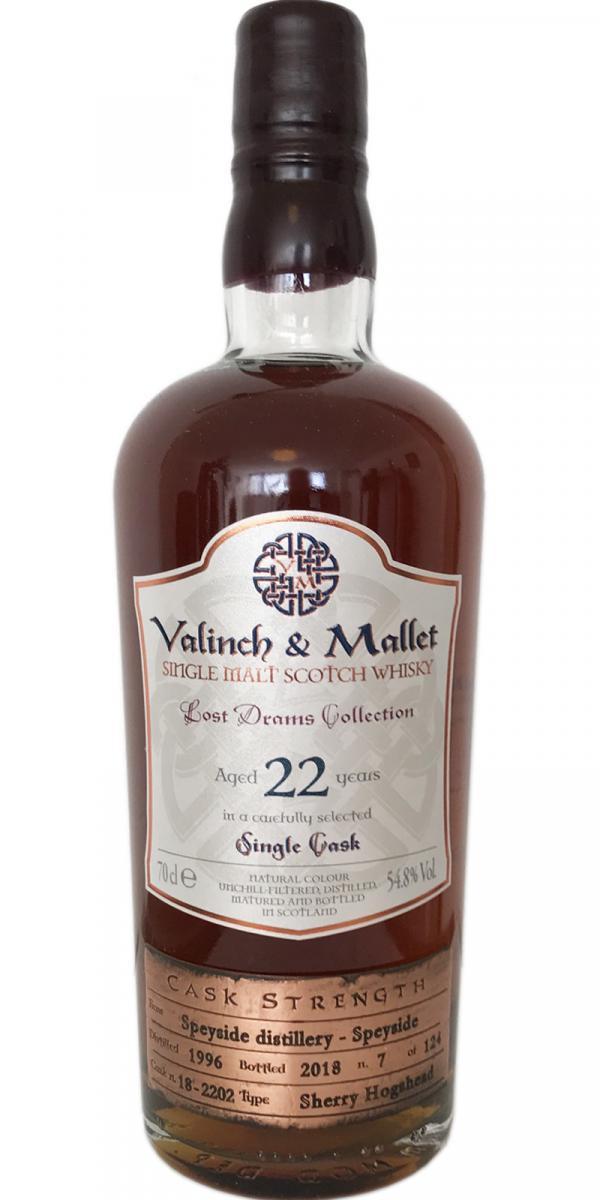 Speyside Distillery 1996 V&M
