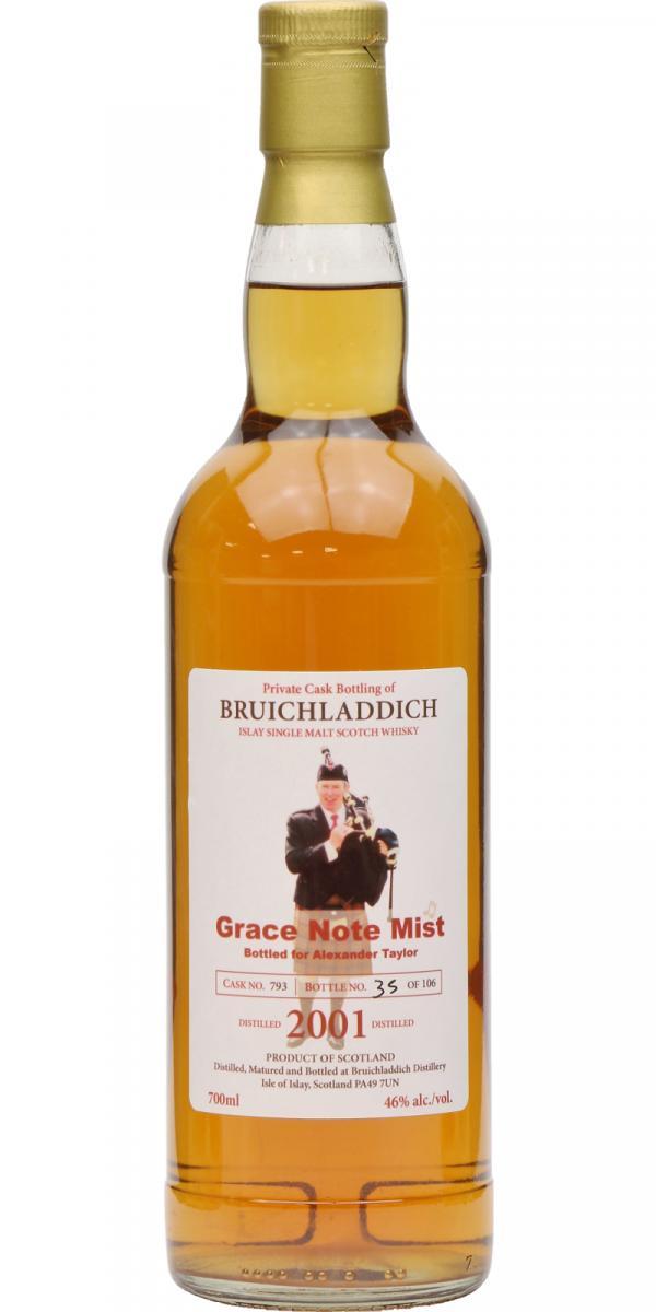 Bruichladdich 2001 - Grace Note Mist