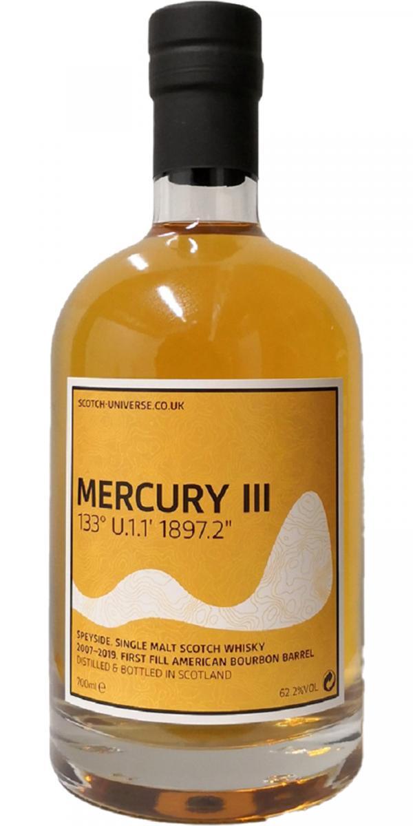 """Scotch Universe Mercury III - 133° U.1.1' 1897.2"""""""