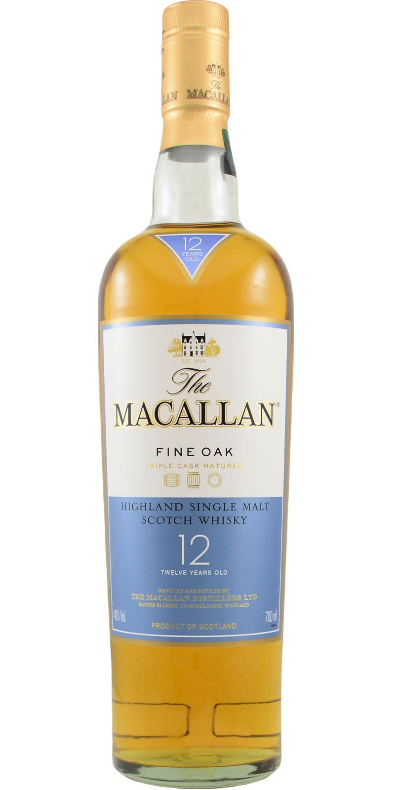 Macallan 12-year-old