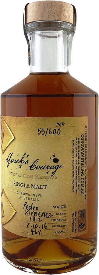 Corowa Distilling Co. Quick's Courage