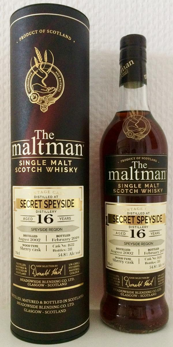 Secret Speyside Distillery 2002 MBl