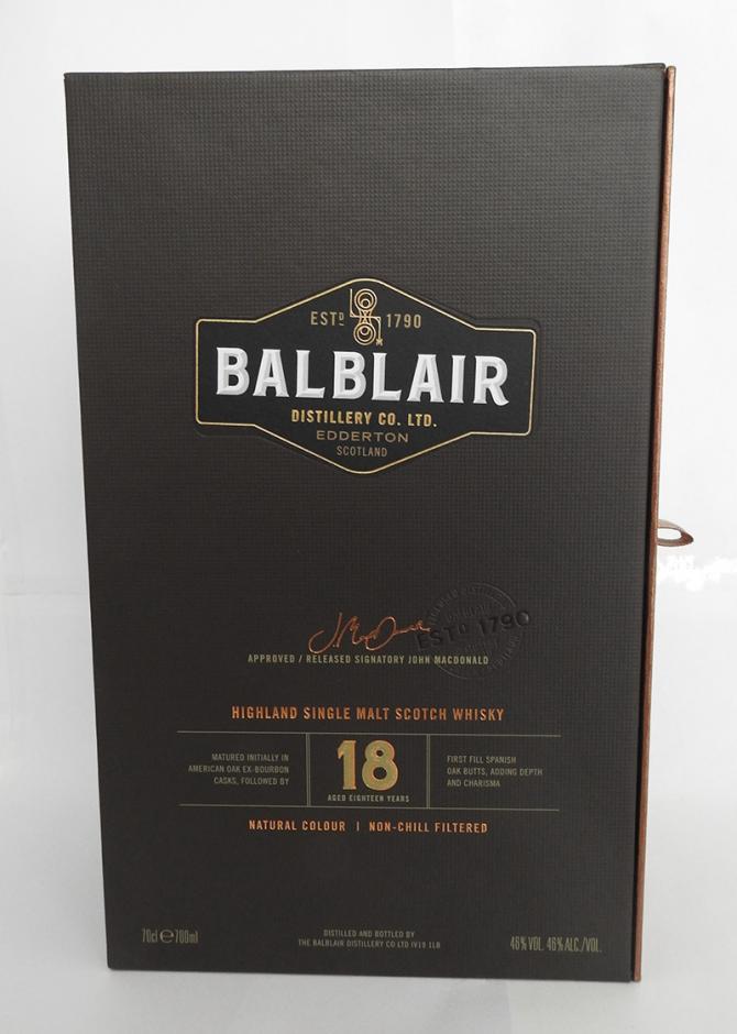 Balblair 18-year-old