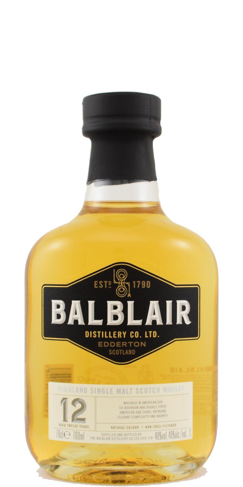 Balblair 12-year-old