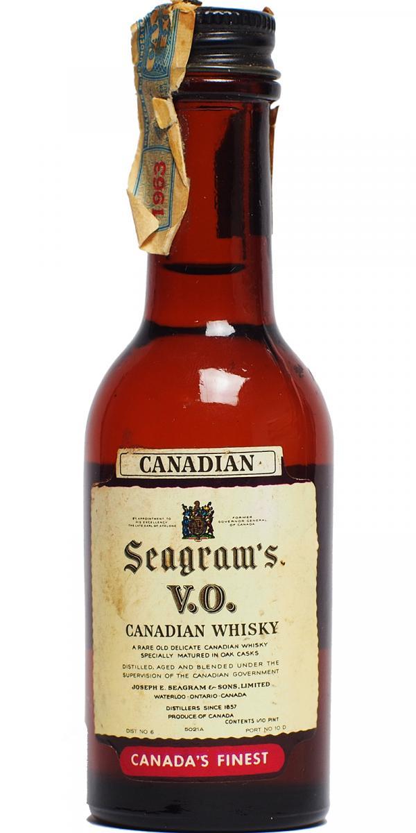 Seagram's V.O. Canadian Whisky