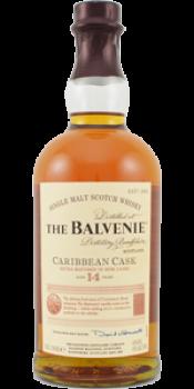 Balvenie 14-year-old Caribbean Cask