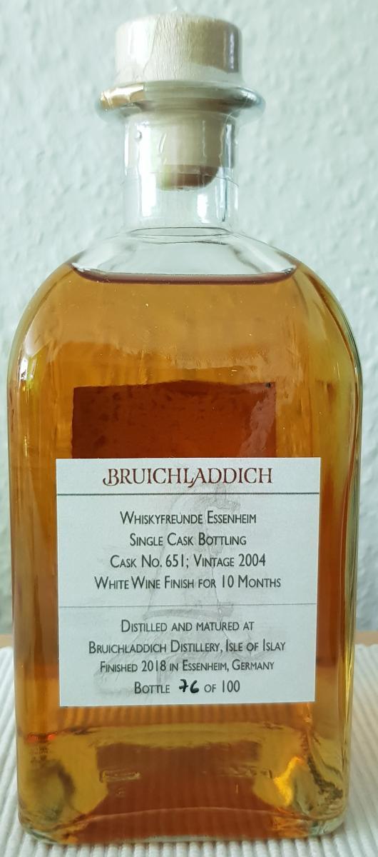 Bruichladdich 2004 WE