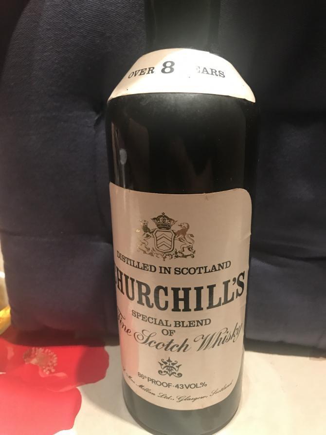 Churchill's 08-year-old