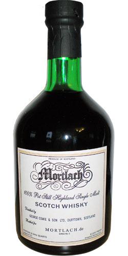 Mortlach 1991 Mde