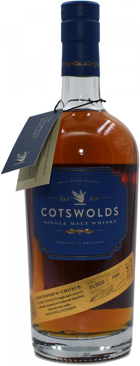 Cotswolds Distillery Founder's Choice