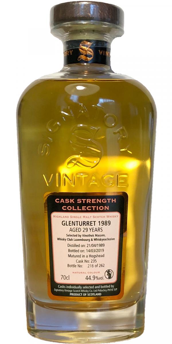 Glenturret 1989 SV