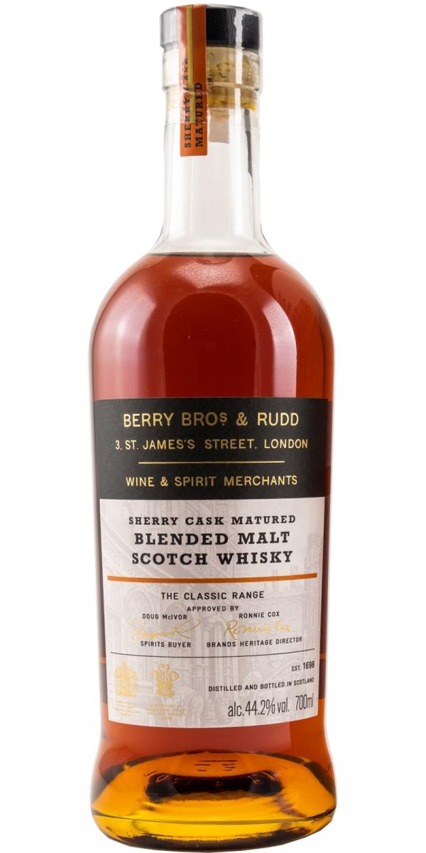 Blended Malt Scotch Whisky Sherry Cask Matured BR