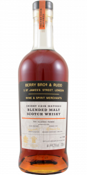 Blended Malt Scotch Whisky Sherry Cask Matured BR