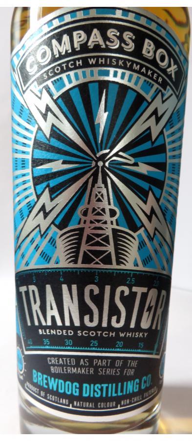 Transistor Blended Scotch Whisky CB