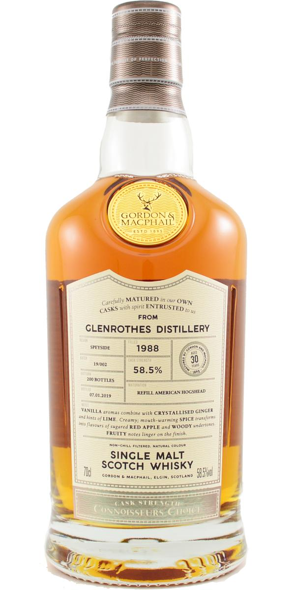 Glenrothes 1988 GM