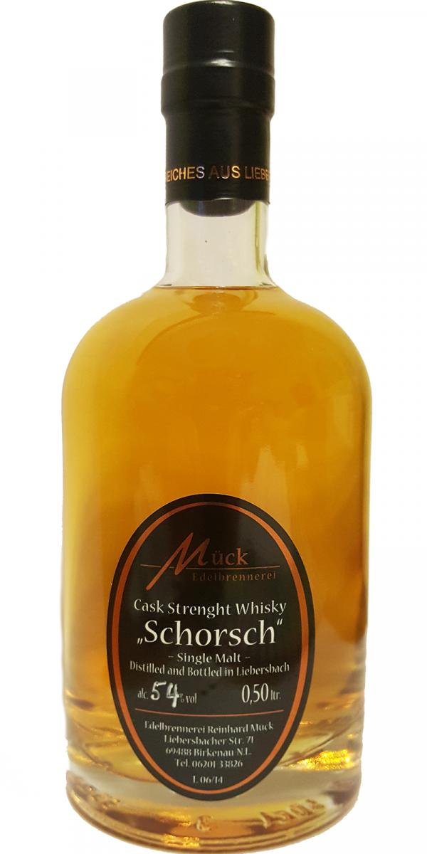 Schorsch Cask Strength Whisky
