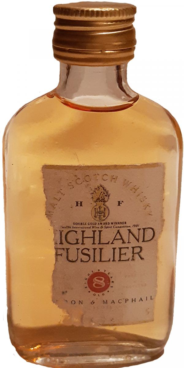 Highland Fusilier 8-year-old