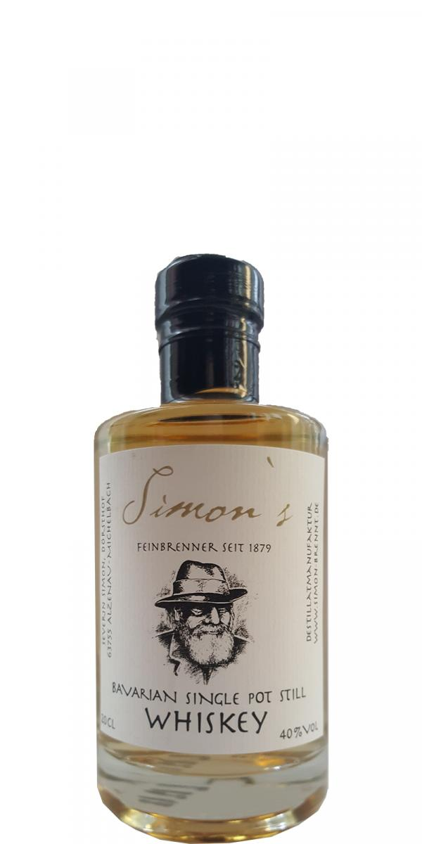 simons bavarian single pot still whiskey