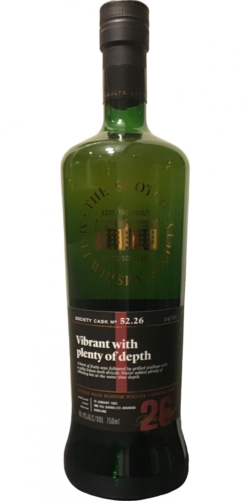 Old Pulteney 1992 SMWS 52.26