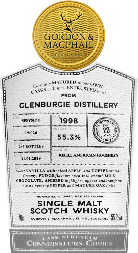 Glenburgie 1998 GM