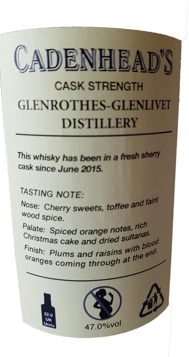 Glenrothes 1994 CA