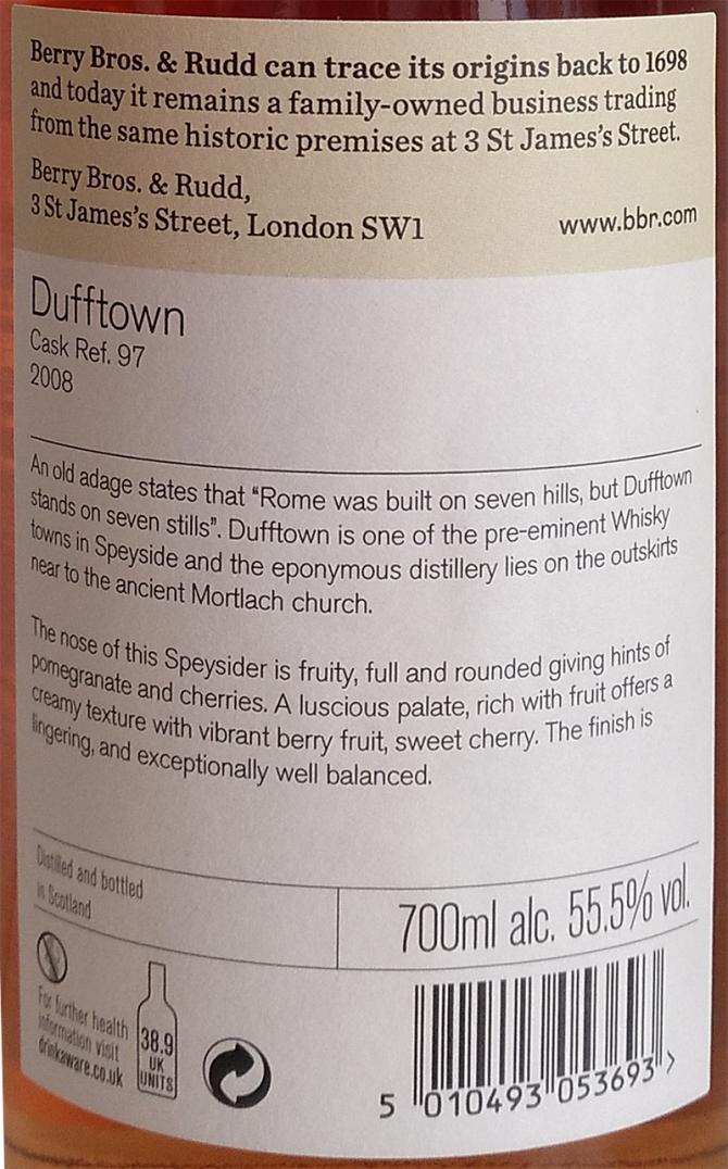 Dufftown 2008 BR