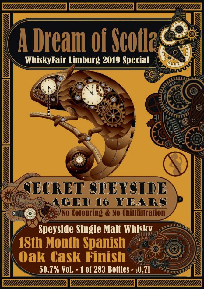 Secret Speyside 16-year-old BW