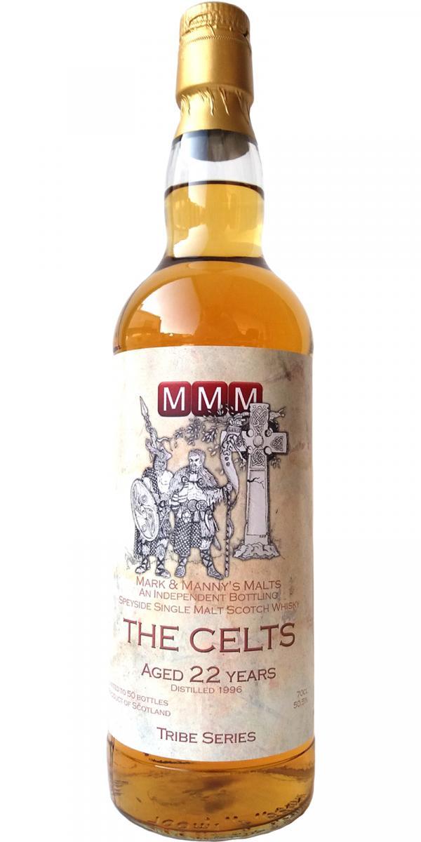 Speyside Single Malt Scotch Whisky The Celts 1996 MMM