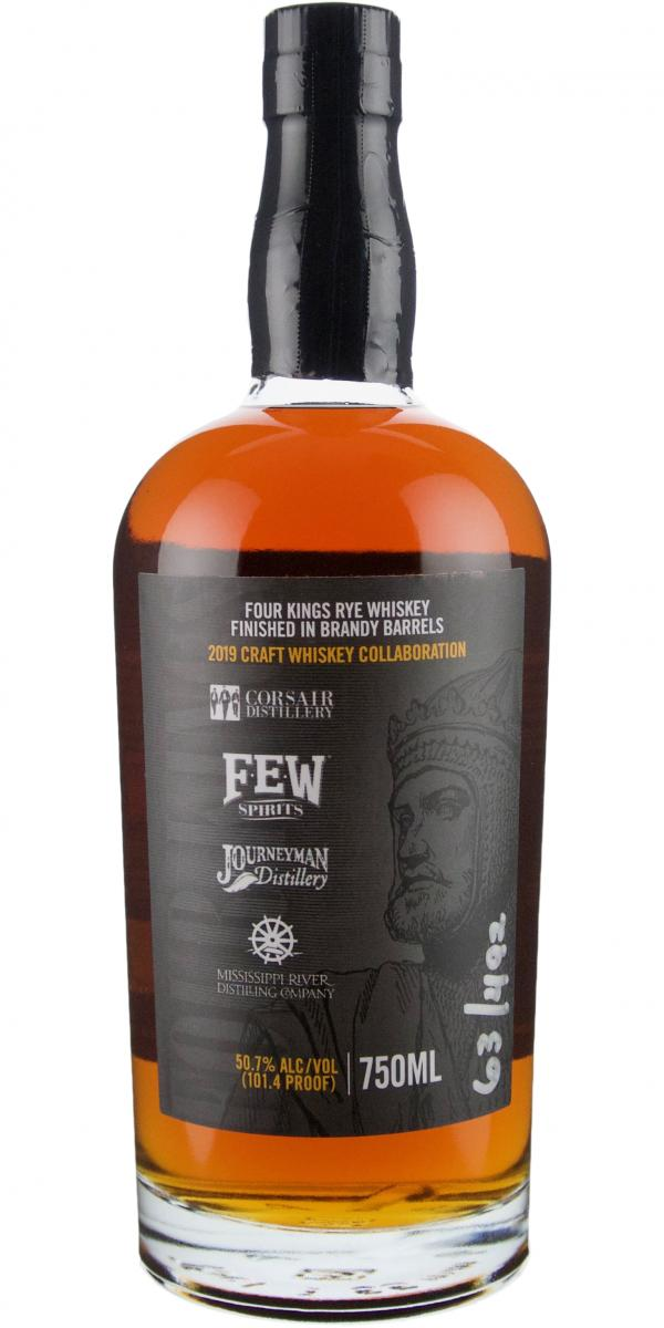 Four Kings 2019 Craft Whiskey Collaboration