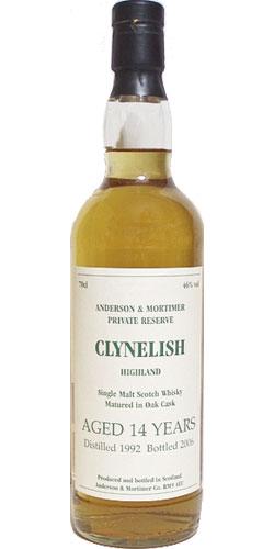 Clynelish 1992 A&M