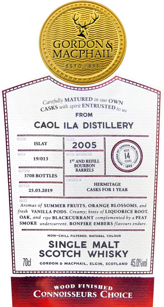 Caol Ila 2005 GM