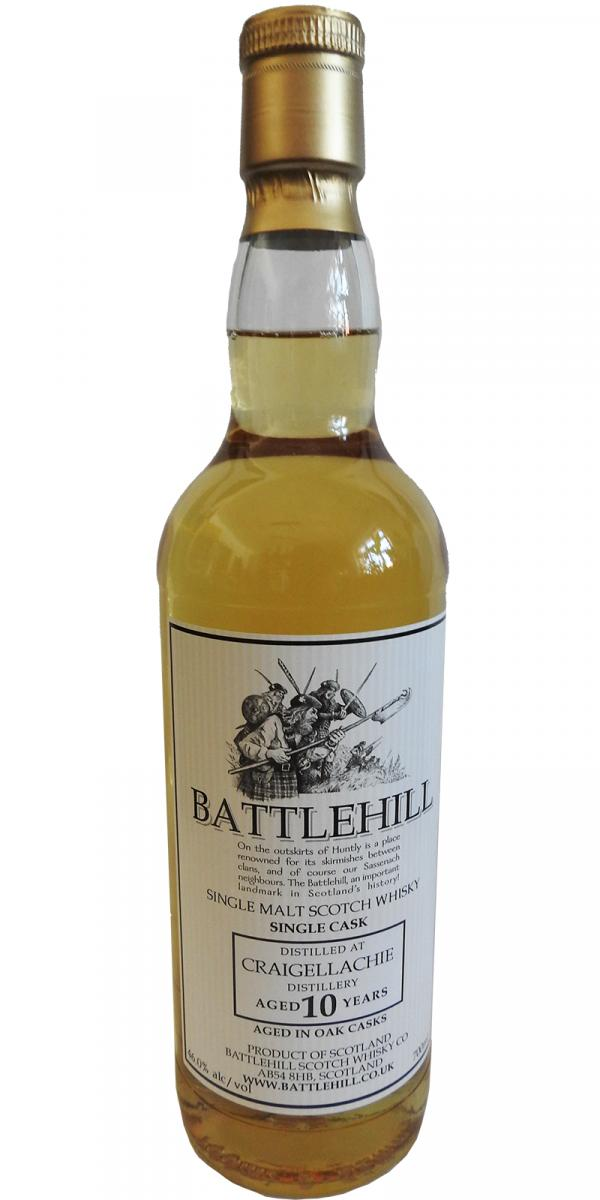 Craigellachie 10-year-old BSW