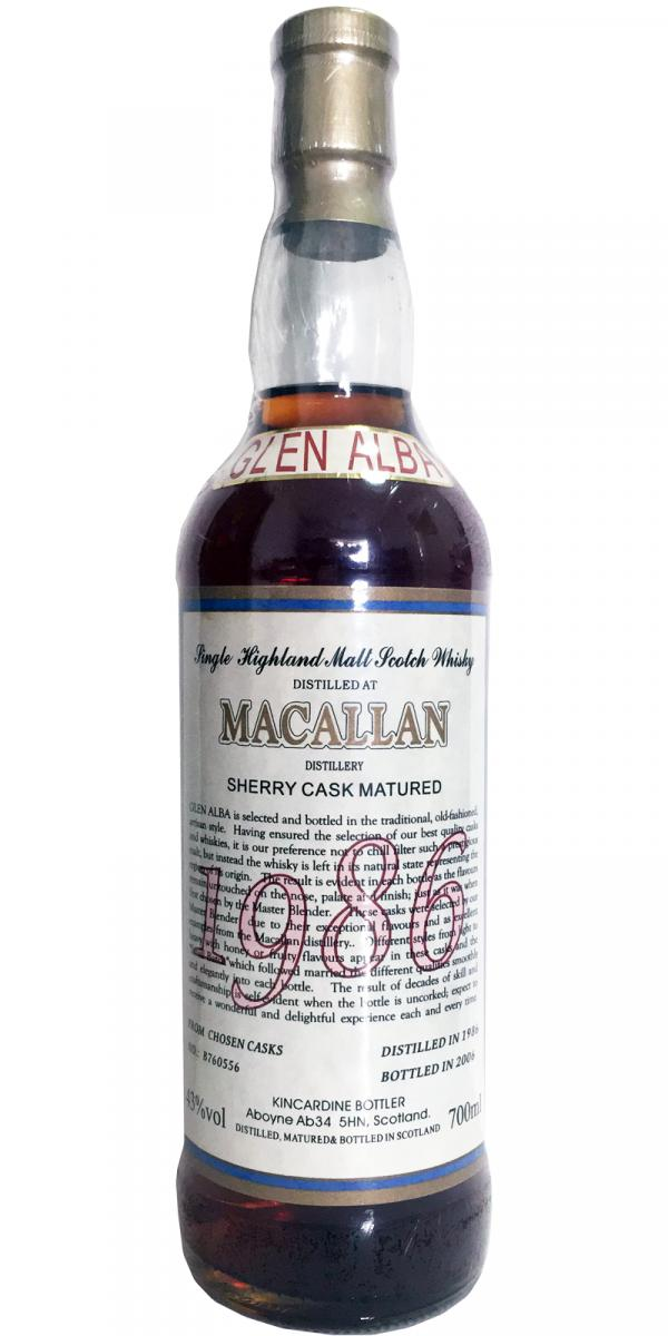 Macallan 1986 Kin