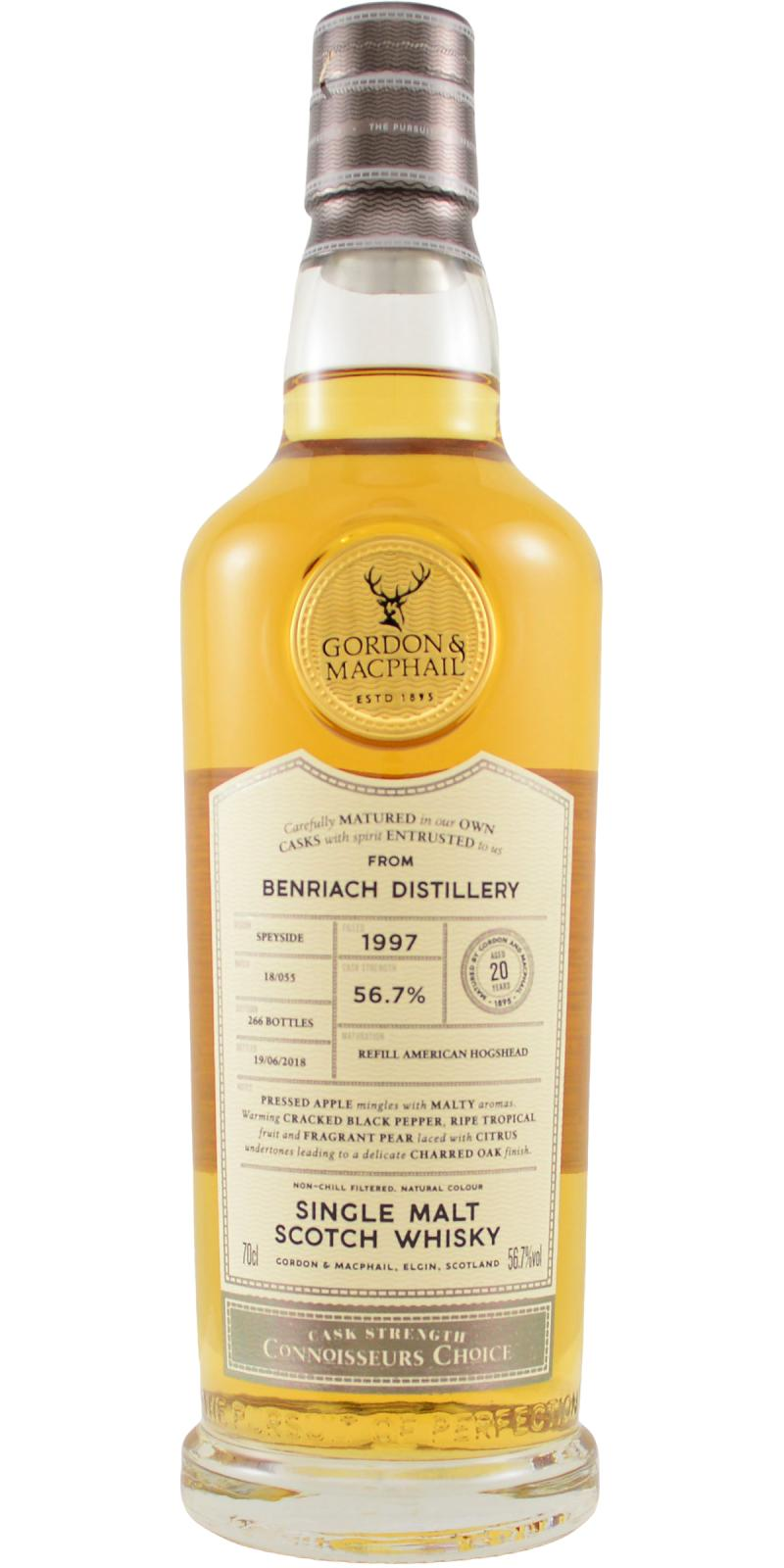 BenRiach 1997 GM