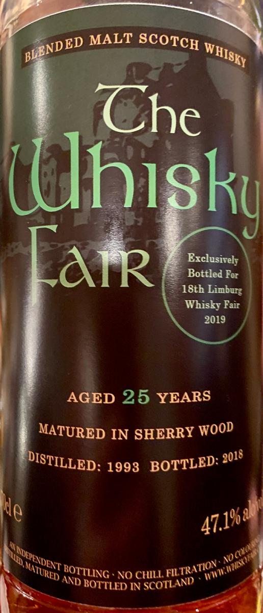 Blended Malt Scotch Whisky 1993 WF